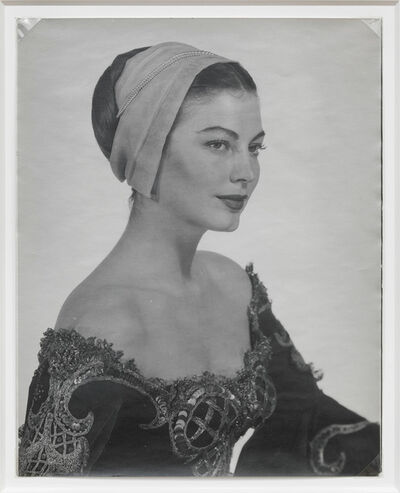 Man Ray, 'Ava Gardner in costume for Albert Lewin's 'Pandora and the Flying Dutchman'', 1950