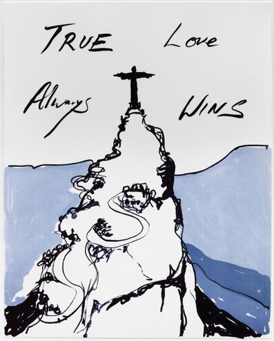 Tracey Emin, 'True Love Always Wins', 2016