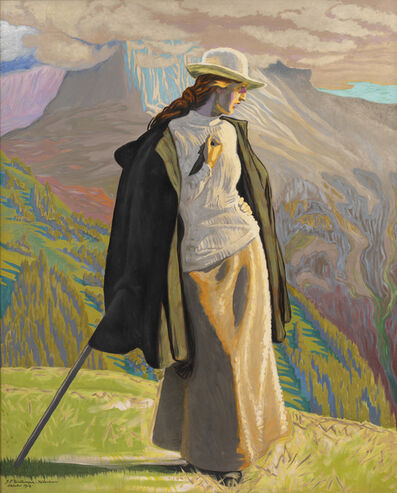 J.F. Willumsen, 'A Mountain Climber ', 1912