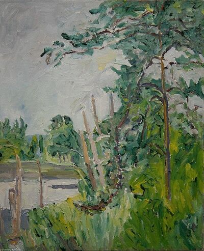 Dorothy Knowles, 'Trees at the  Reservoir', 1990
