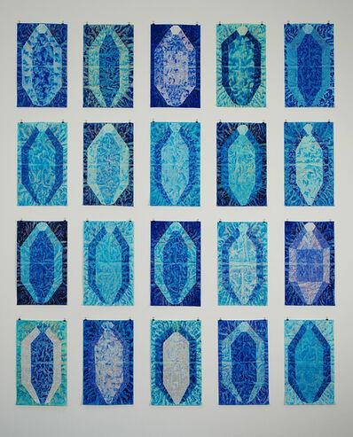 Alberto Di Fabio, 'Senza Titolo (serie Minerali Blu)', 2002
