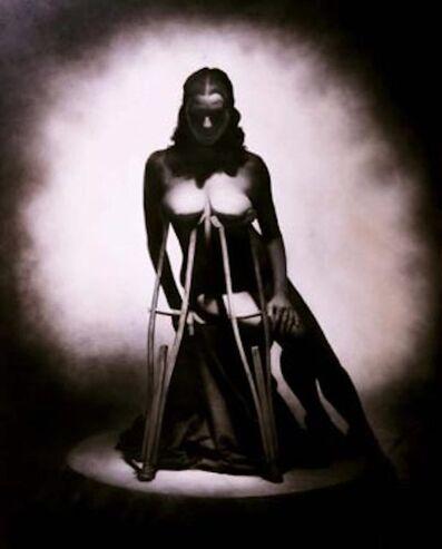Rocky Schenck, 'Nude with Crutches'