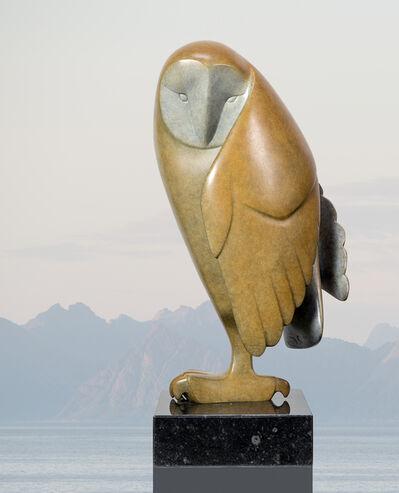 Evert den Hartog, 'Opkijkende uil no. 2'