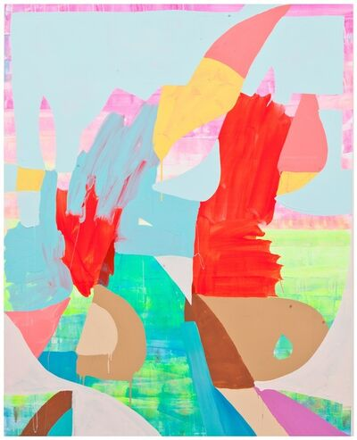 Maya Hayuk, 'Positive Space 3231', 2014
