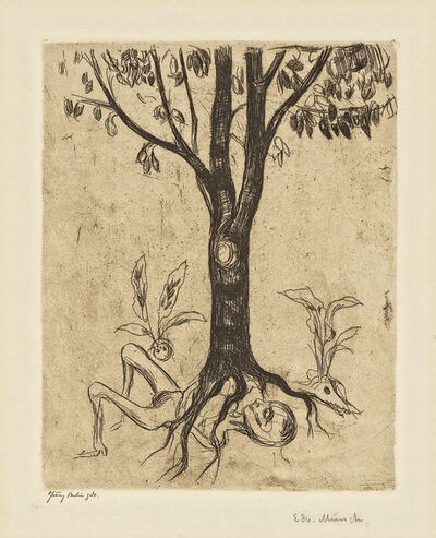 Edvard Munch, 'Liv og død (Life and Death)', 1902 (or earlier)