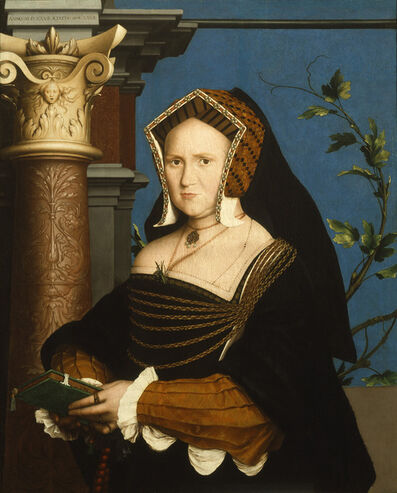 Hans Holbein the Younger, 'Mary, Lady Guildford', 1527