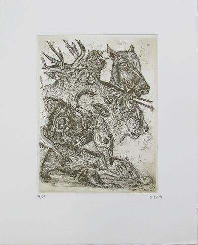 Troels Carlsen, 'De Største Kræfter (Sepia)', 2014