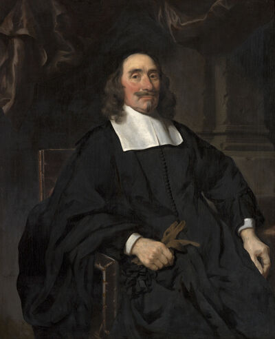 Nicolaes Maes, 'Portrait of a Gentleman', 1671