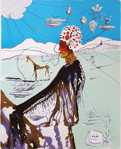Salvador Dalí, 'The Earth Goddess (The Chef)', 1980