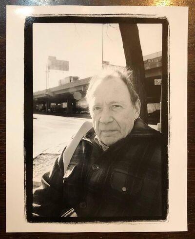 Gerard Malanga, 'Vintage Signed Silver Gelatin Photograph Portrait Print of Anthony Haden Guest', 1990-1999