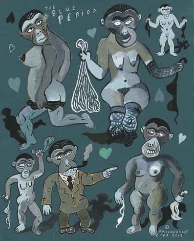 Tassos Pavlopoulos, 'The Blue Period', 2012