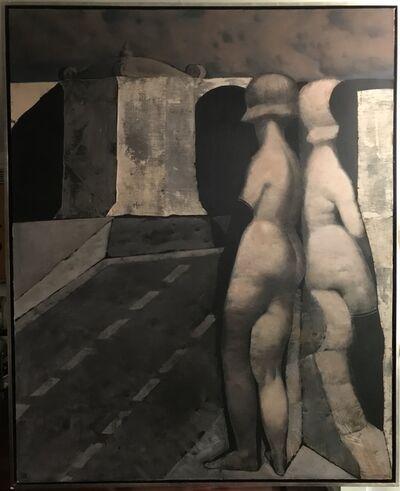 Armando Morales, 'Two figures', 1970
