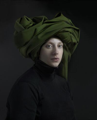 Hendrik Kerstens, 'Green Turban', 2018