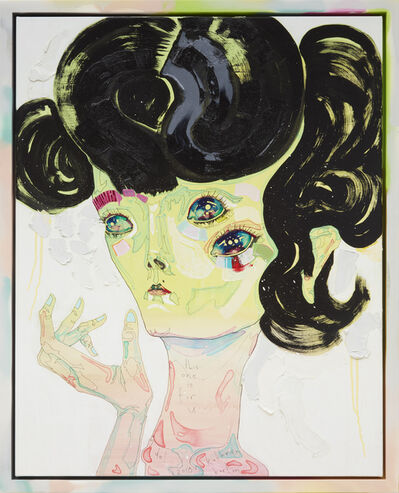 Del Kathryn Barton, 'this one is for u', 2018