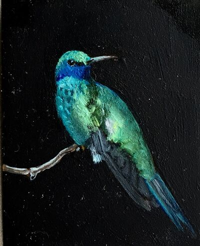 Dina Brodsky, 'Blue Hummingbird', 2018
