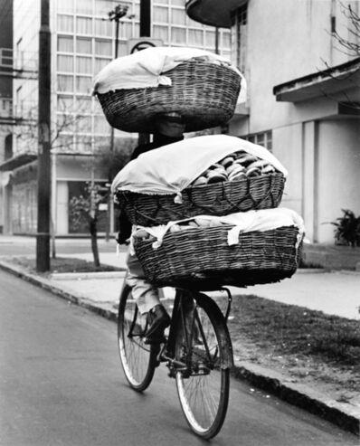 Rodrigo Moya, 'Panadero, Ciudad de México', 1963
