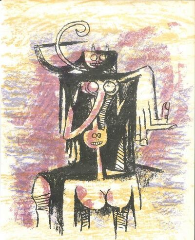 Wifredo Lam, 'Untitled', 1974