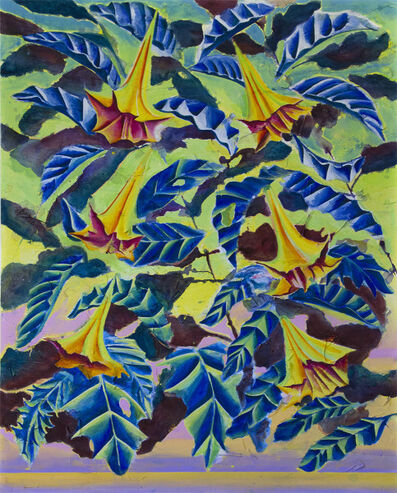 Nicholas William Johnson, 'The Tree Leaves Became Fixed in the Sky', 2018