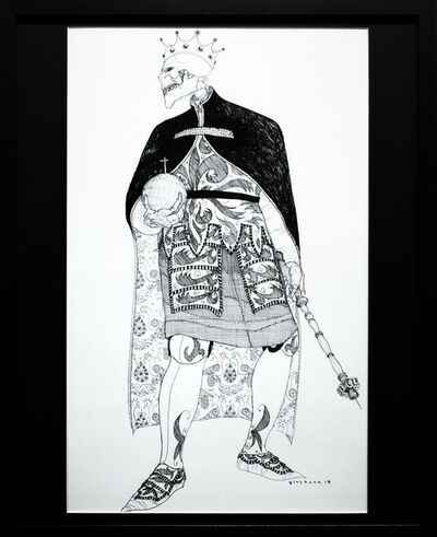 Kate Glasheen, 'Dead King 11 [12th Century Polish Lord]', 2018
