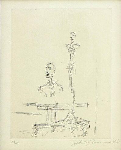 Alberto Giacometti, 'Dans l'Atelier', 1965