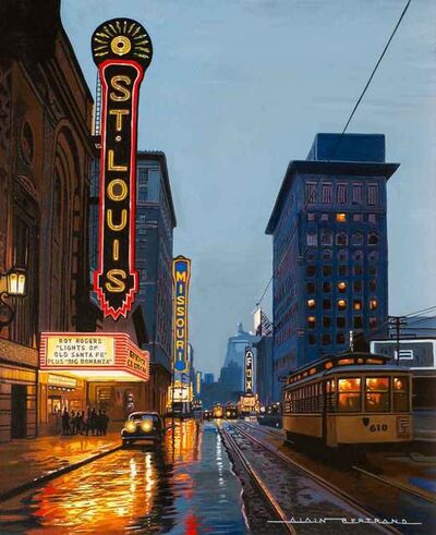 Alain Bertrand, 'Saint Louis, Cinema', 2020