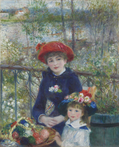 Pierre-Auguste Renoir, 'Two Sisters (On the Terrace)', 1881
