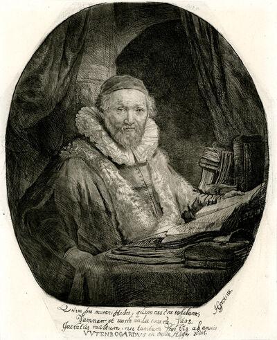 Rembrandt van Rijn, 'Jan Uytenboagert, Preacher of the Remonstrants', 1635