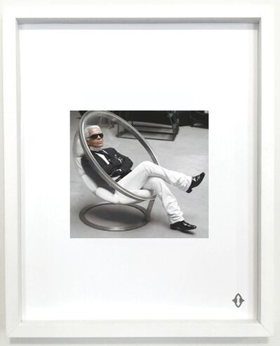 "Karl Lagerfeld, 'KING OF WANDS, From the series ""Contemporary Magic: A Tarot Deck Art Project"" Limited Edition 5th Anniversary Print Collection', 2015"