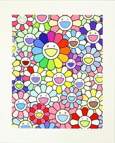 Takashi Murakami, 'Flowers Of Hope', 2018