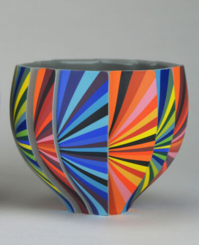 Peter Pincus, 'Pleated Bowl A', 2020