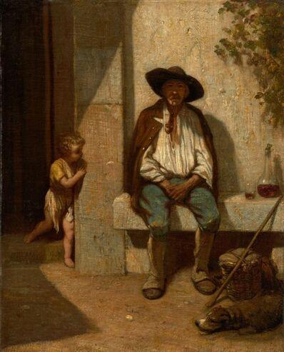 Alexandre-Gabriel Decamps, 'Italian Peasant', 1842