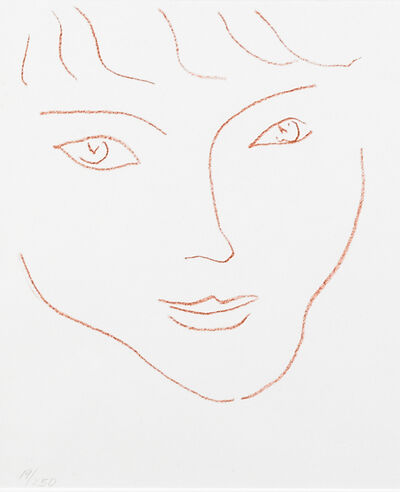 Henri Matisse, 'Visage from the Duthuit Books 11 (1 of 31 lithographs)', 1946