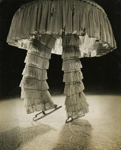 """lucien Aigner, '""""Untitled"""" (Ice Skating Manequin)', ca. 1940"""