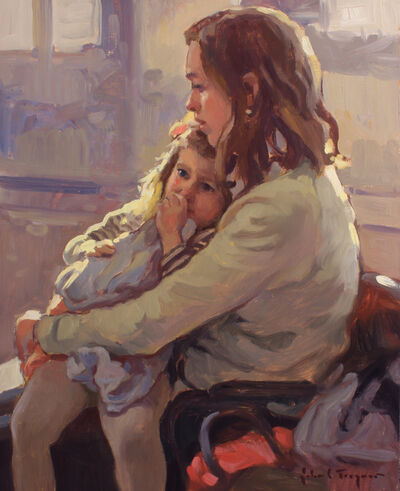 John C. Traynor, 'Mother and Child'