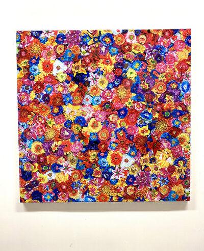 Tetsutaro Kamatani, 'PROLIFERATION- FLOWER COLORFUL', 2020