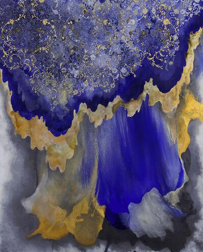 Hedieh Javanshir Ilchi, 'Ashen lands and blue skies 1', 2019
