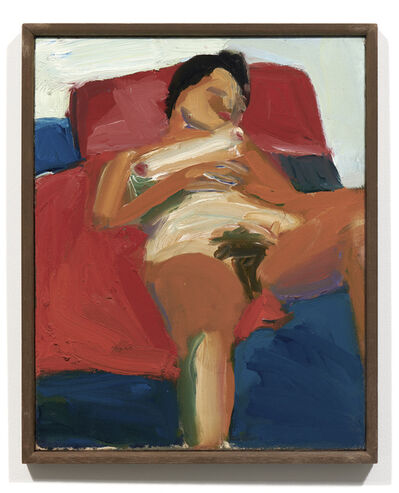 Joan Brown, 'Untitled (reclining nude)', c. 1958