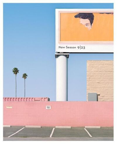 George Byrne, 'Transparent Billboard', 2017