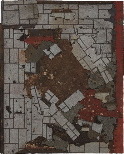 Marianne Vitale, 'Shingle Painting 1', 2013