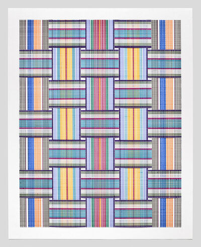 Carly Glovinski, 'Leisure Weave 7 ', 2017
