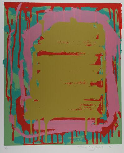 John Hoyland, 'Sutton Suite (ochre)', 1975