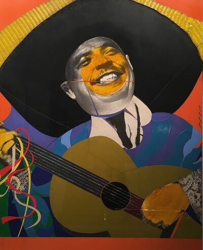 Romare Bearden, 'Mexican Guitarist', 1965-1970