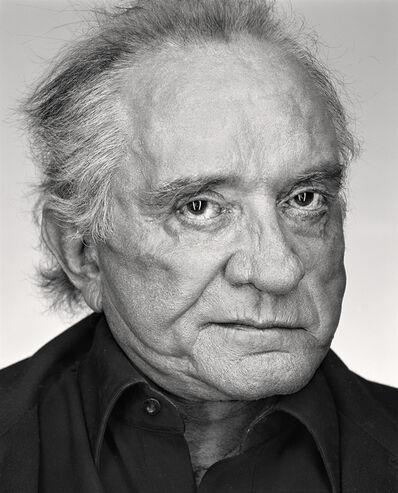 Martin Schoeller, 'Johnny Cash', 2002