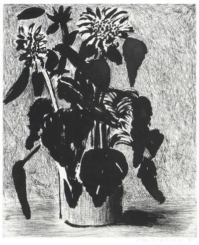 David Hockney, 'Sunflowers II', 1995