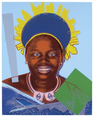 Andy Warhol, 'Reigning Queens, Queen Ntombi Twala of Swaziland (F.S. II. 347)', 1985
