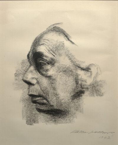 Käthe Kollwitz, 'Self Portrait', 1927