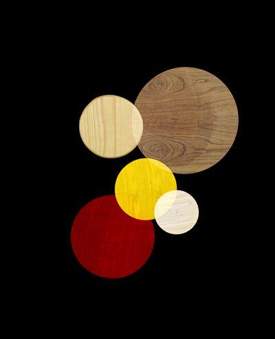 Alejandra Laviada, 'Red, Wood, Yellow (from Circle Studies)', 2017