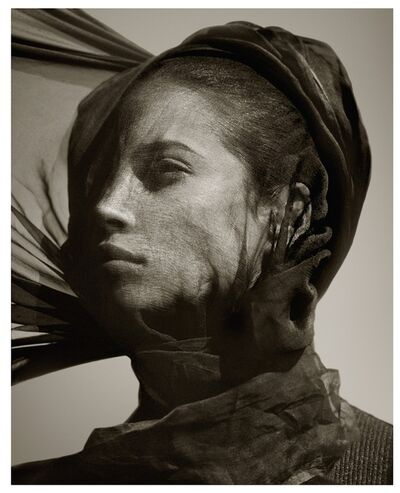 Albert Watson, 'Christy Turlington, Luxor, Egypt, 1987', 1987