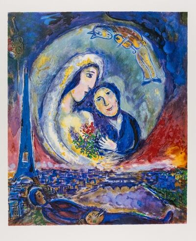 After Marc Chagall, 'Le Songe', 1994