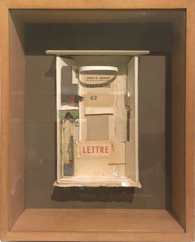 Addie Herder, 'Cour (Ile St Louis)', 1981